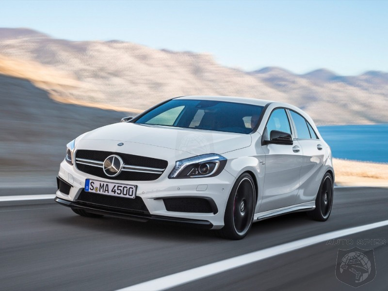 STUD OR DUD? Mercedes-Benz A45 AMG Images Surface On The Web